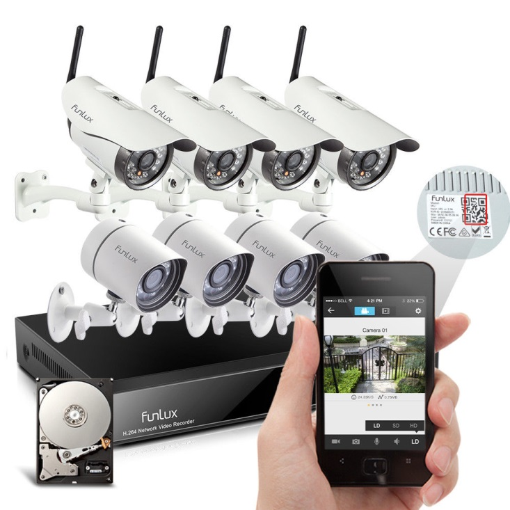 poe camera nvr system - Nvr Security System
