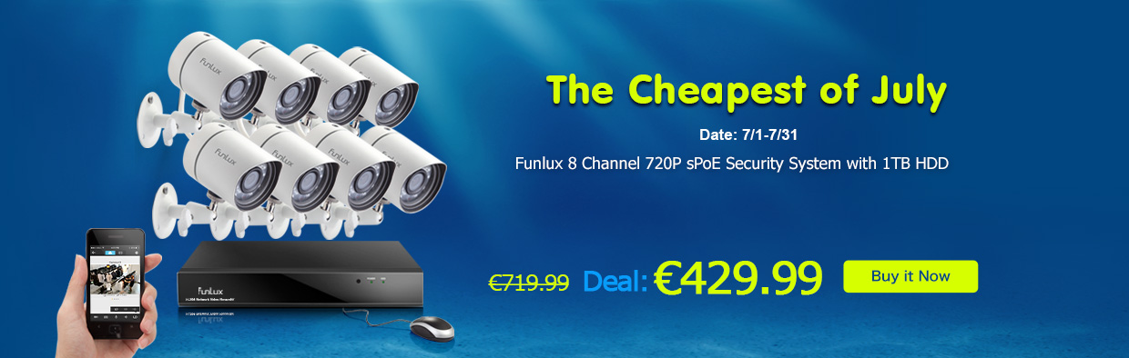 16 channel sPoE Security Systems