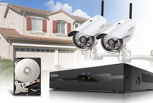 960 h security camera system
