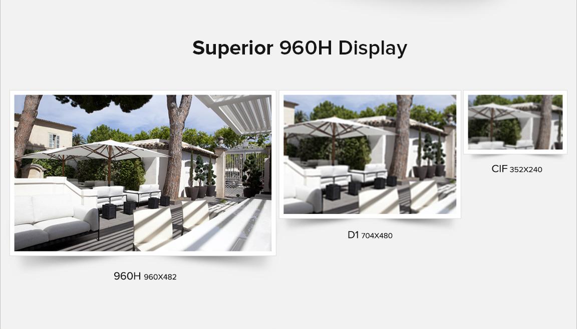 funlux 8ch 960h hdmi dvr outdoor 700tvl home security
