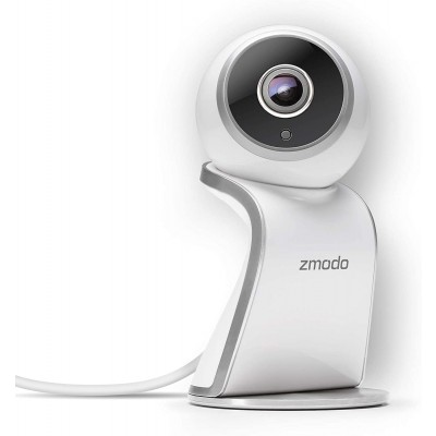 Refurbished Zmodo 1080P Sight 180  WiFi Two-Way Audio Indoor Camera