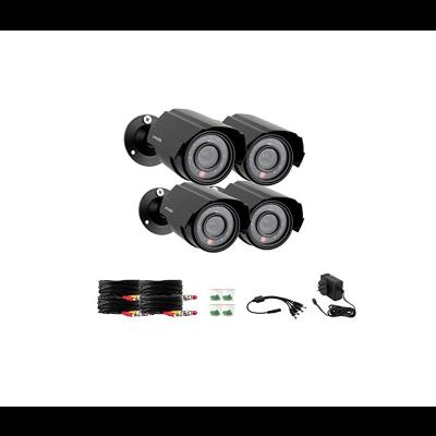 4-Pack of 700TVL Outdoor IR Bullet Camera Refurbished